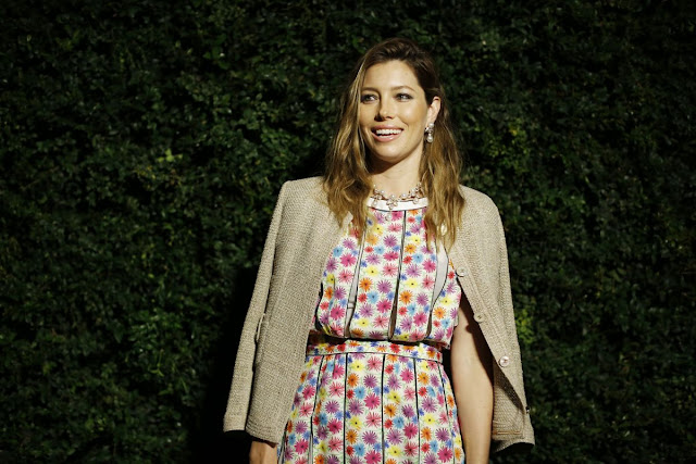 Jessica Biel at Chanel and Charles Finch Pre Oscar Party