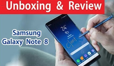 Samsung Galaxy note 8 Unboxing and Review in Tamil