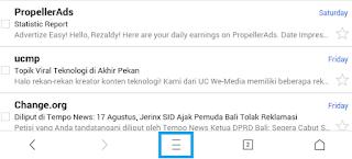 Cara Mencari Kata pada Halaman di UC Browser Tutorial Mencari Kata pada Halaman di UC Browser