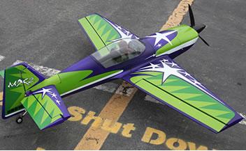 BlitzRCWorks Giant MX2 Pro 3D Aerobatic RC Plane | MICRO RC