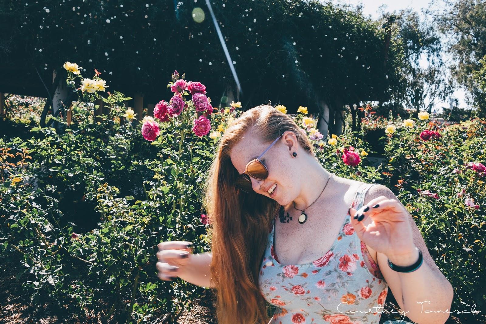 Balboa Park Rose Garden Portraits San Diego California