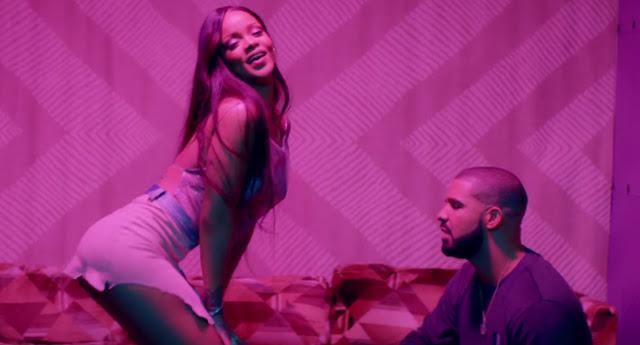 Rihanna twerks dans le dernier clip Work avec Drake