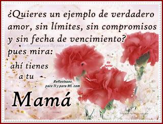 Imagenes con frases poéticas para las madres