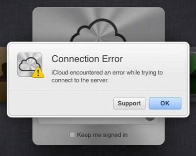 Layanan iCloud Sempat Down 1,5 Jam