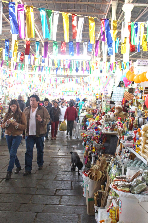 Cusco market, Peru - travel blog