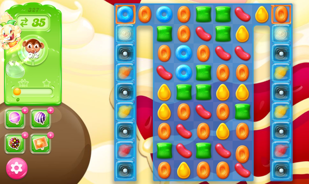 Candy Crush Jelly Saga 327