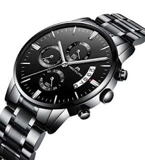 reloj pulsera de acero para hombre ideal para San Valentin