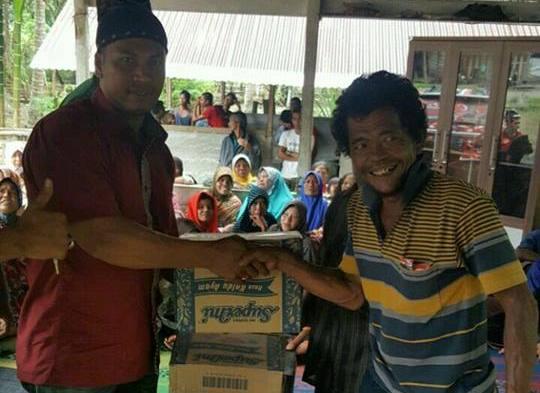Tim Mualem Bantu Korban Banjir di Nagan Raya