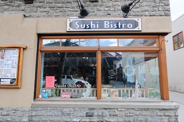 Sushi Bistro, Banff