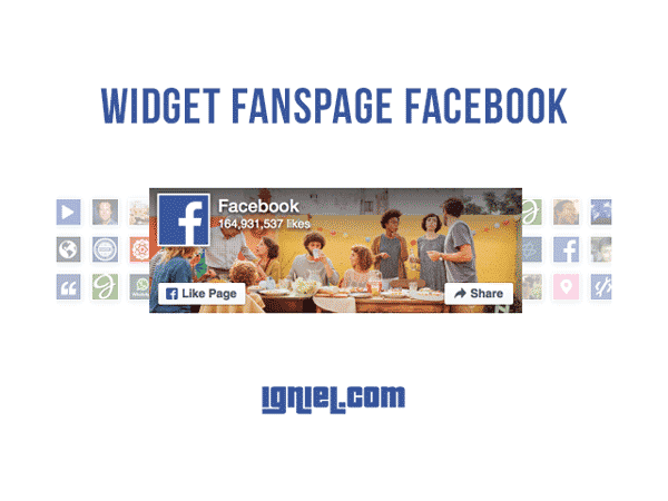 Cara Pasang Widget Fanspage Facebook Ke Blog