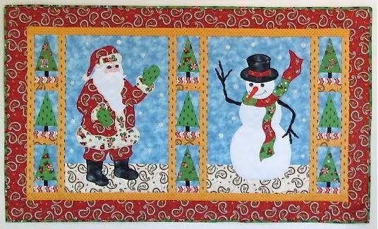 Apple Avenue Quilts Sewcalgal S 2011 Christmas Quilt Show
