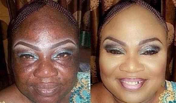 dangers of heavy makeup