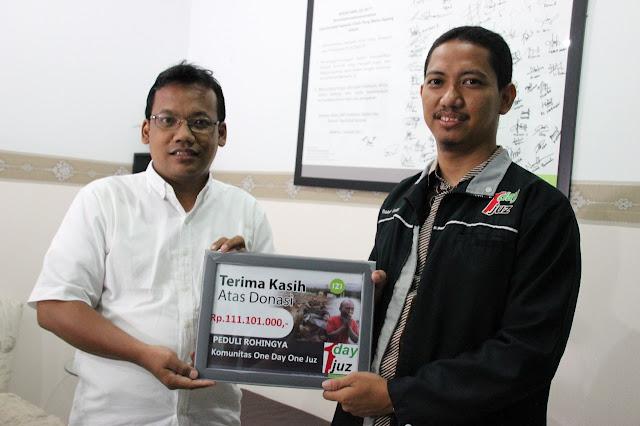 ODOJ Luwuk Salurkan Bantuan untuk Rohingya Melalui IZI