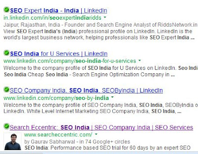 SEO India is the best keyword for SEO companies in India