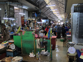 Tagesmarkt Morgenmarkt Hua Hin