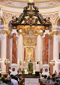A New Ciborium for the Basilica of Christ the King in Paola, Malta