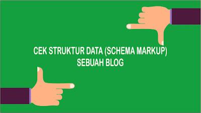 Cara Cek Struktur Data (Schema Markup) Blog Agar Lebih SEO