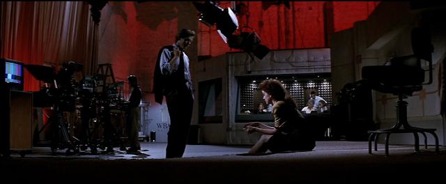Dan (Kevin Bacon) und Lorie (Elizabeth Perkins) diskutieren auch hinter der Bühne