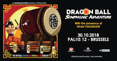 Concert Dragon Ball Bruxelles