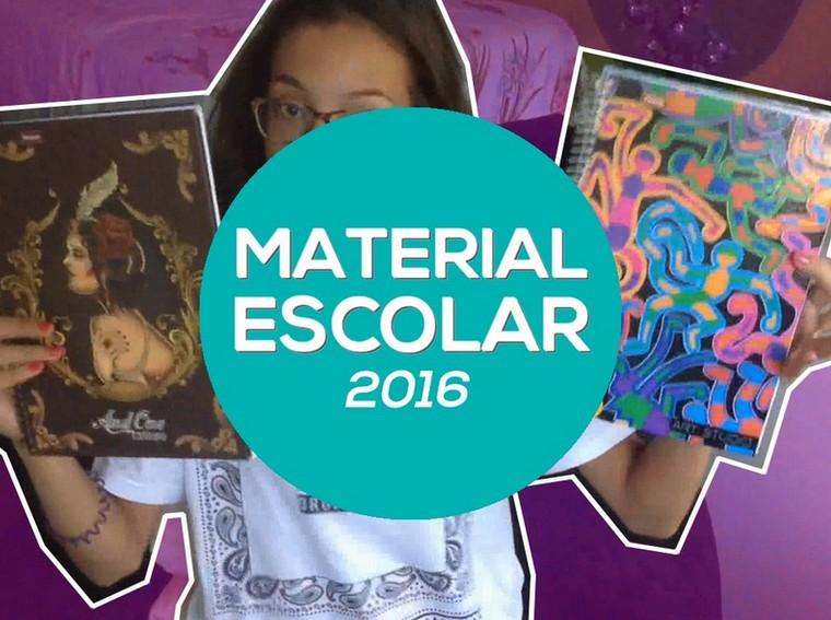 Material escolar 2016