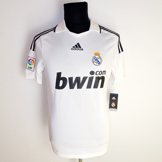 camiseta del Real Madrid