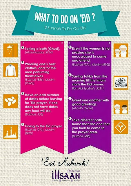 8 Sunnah To Do On Eid