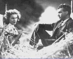 Adriana Benetti and Gino Cervi in a scene from Blasetti's 1942 film Quattro pasi fra le nuvole