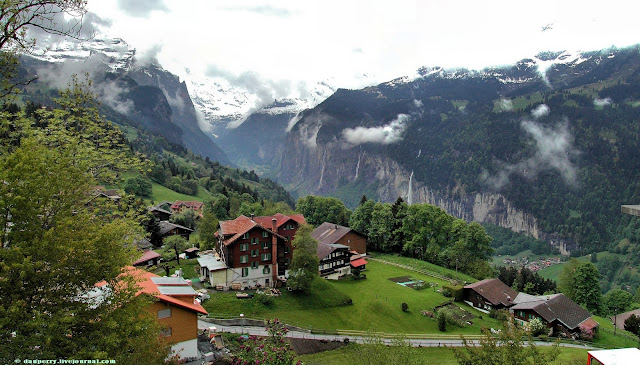 Top World Travel Destinations Wengen Switzerland