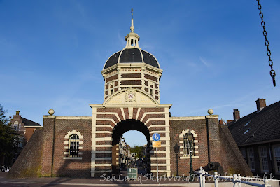 萊登, Leiden, 荷蘭, holland, netherlands, 城門, Morspoort