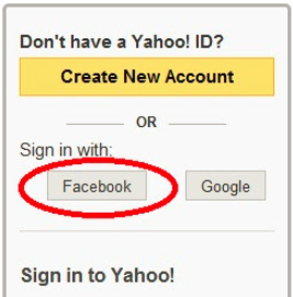 login yahoo account