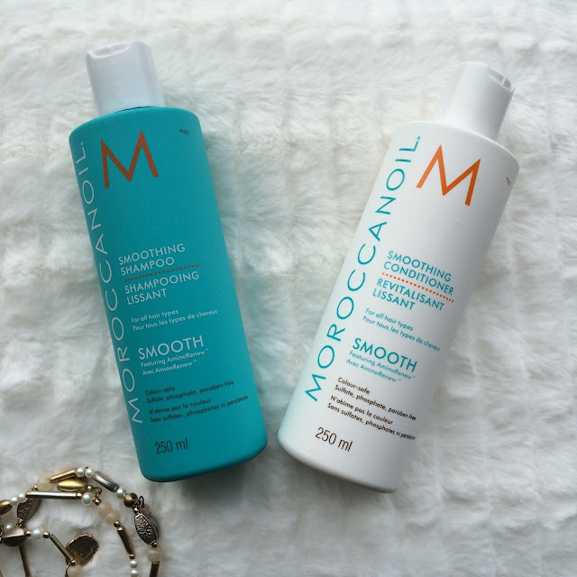 Review of both shampoo and conditioner by Moroccanoil sent by The Hut