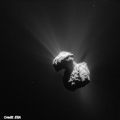 Rosetta Navigation Camera Image of Comet 67P