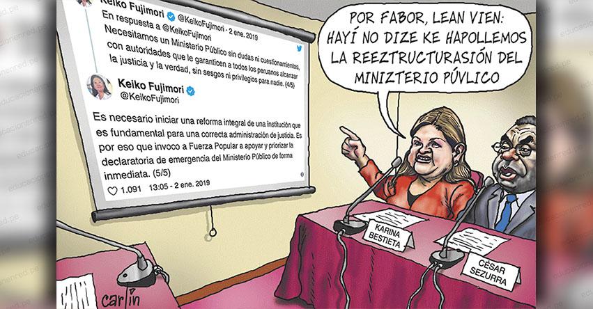 Carlincaturas Sábado 5 Enero 2019 - La República