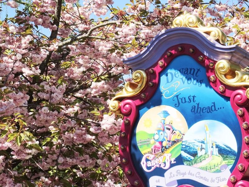 Casey Jr fantasyland à Disneyland Paris