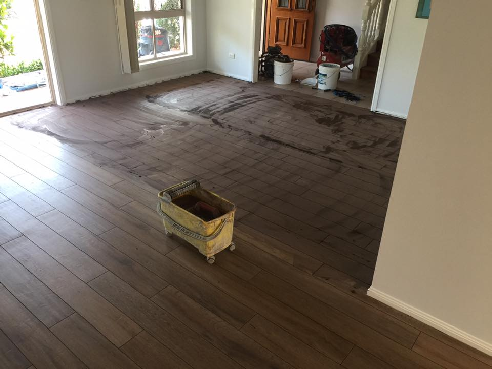 Gareth From Precision Tile And Stone Has Done It Again With This Floor Renovation For A Residential Home In Queensland 1200x150mm Wood Effect Been