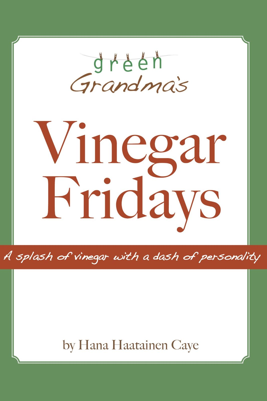 Vinegar Fridays