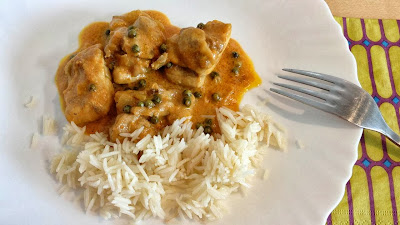 Pollo al Curry de Pimienta Verde (Murgh Mirchiwala)