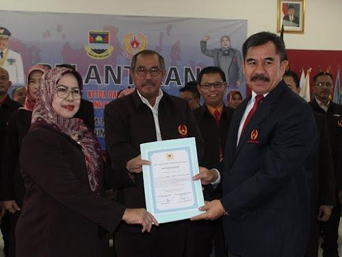Pelantikan Ketua KONI Bandung Barat 2017 - 2022