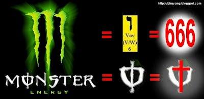 Pesan Tersembunyi Dibalik Logo Monster Energy Teknologi
