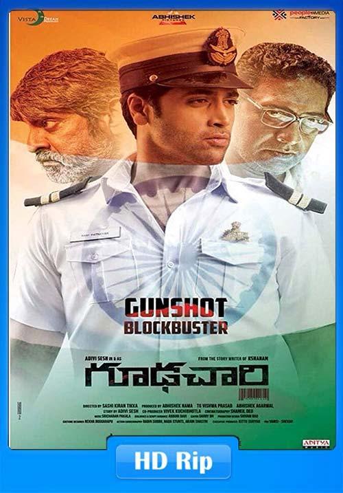 Goodachari Intelligent Khiladi 2019 720p Hindi Dubbed WEBHD  | 480p 300MB | 100MB HEVC Poster