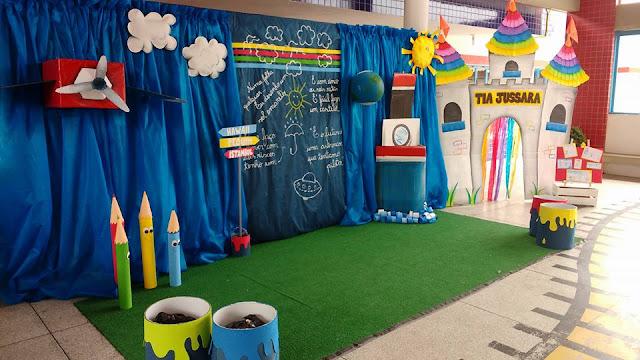 Linda Decoração Formatura Educação Infantil
