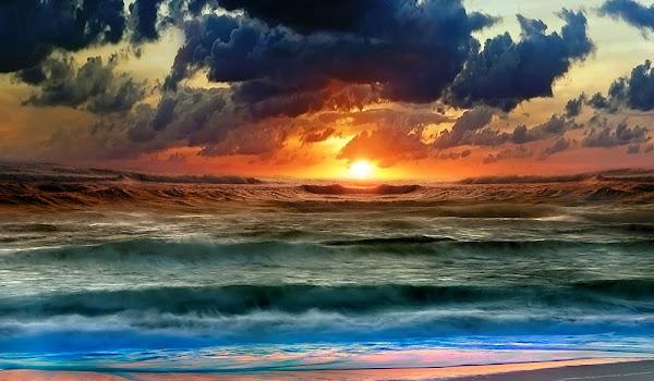 Gökyüzü ve Gün Batımı HD Resimler