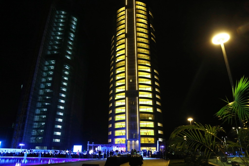 The Unveiling of Eko Atlantic Pearl Tower In Lagos