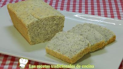 Pan casero con semillas de chia