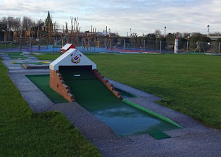 Mini Golf course in Southport's King's Gardens