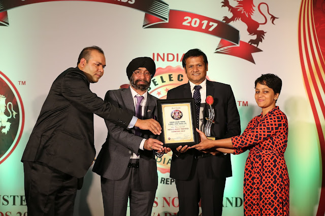 KCT Group Bags India's Most Trusted Company Award 2017