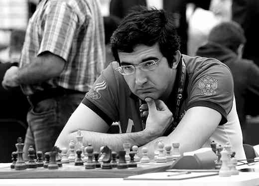 Vladimir Kramnik - Photo © Eteri Kublashvili