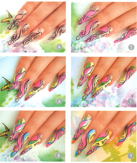 Nails: Abstraction In Nail Design