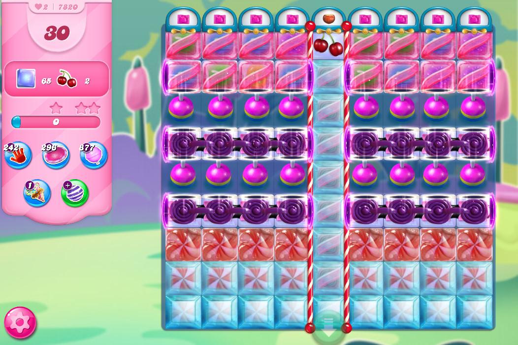 Candy Crush Saga level 7820