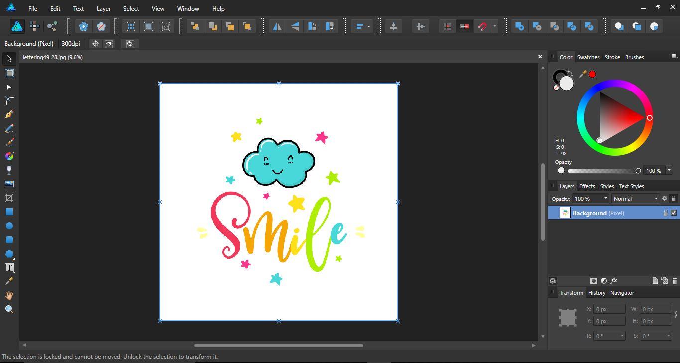 Resize canvas in Affinity designer | Design Bundles